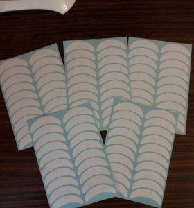 Наклейки для наращивания ресниц