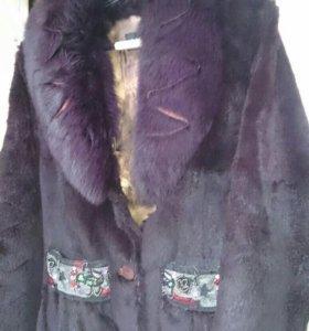 Меховая куртка- шуба
