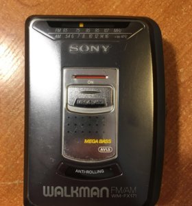 SONY WALKMAN WM-FX171