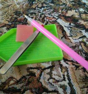 Инструмент для алмазной мазаики, для бисера