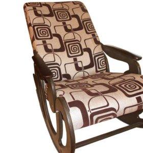 Кресло-качалка «Стандарт», рогожка №55