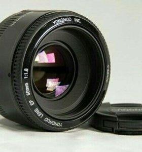 Объектив Yongnuo 50 мм 1.8