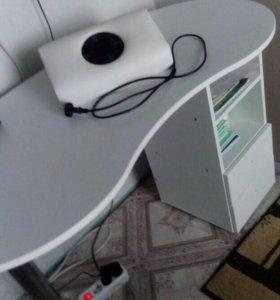 Стол+пылесос (маникюрный)