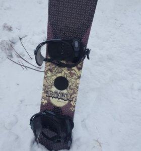Сноуборд (комплект)