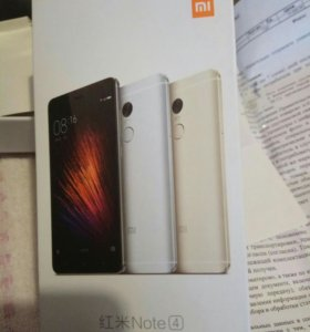 Телефон XIАOMI Redmi Note 4