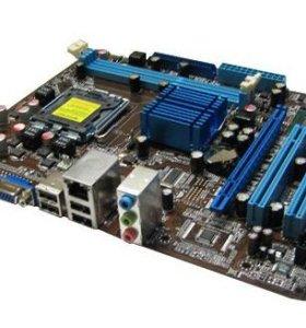 Socket 775 DDR3 Asus P5G41T-M LX2 GB чипсет G41