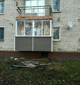 Остекление балконов и лоджии окон пвх