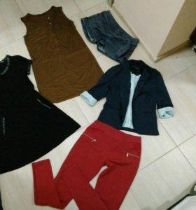Вещи:Платье,джинсы,свитшот,сарафан,пиджак