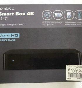 Smart box 4K v001 смарт медиаплеер новый