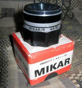 Mikar/s 4,5/55 объектив на Krokus