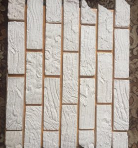 Плитка декоративная из гипса