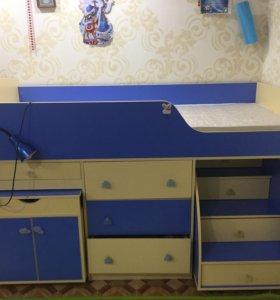 Детский комплекс с кроватью