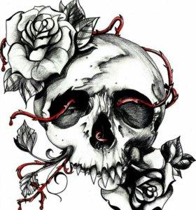Художнественная тату в разных стилях