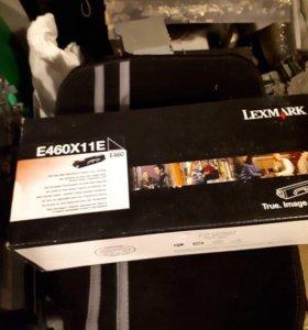 Картридж Lexmark E460X11E оригинал