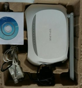 Tp-Link 150 Mbps Wireless N adsl2 + modem router