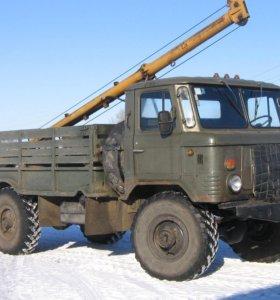 Ямобур БКМ-302 шасси ГАЗ-66 2000г/в