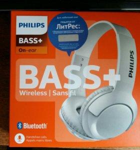Наушники Bluetooth Philips Bass+(SHB3075WT/00)