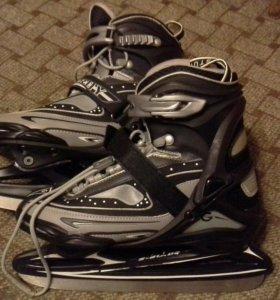 Коньки хоккейные  размер 38