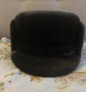 Шапка из шерсти тюленя
