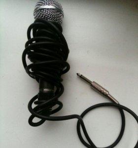 микрофон новый для караоке