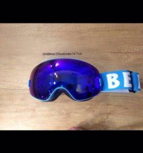 Сноуборд маска, горнолыжные очки Mini be nice
