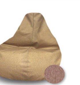 Кресло груша светло коричневая