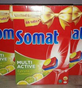 Табл. для посудомоечной машины Somat (66 шт)