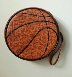 Маленькая сумка в виде баскетбольного мяча