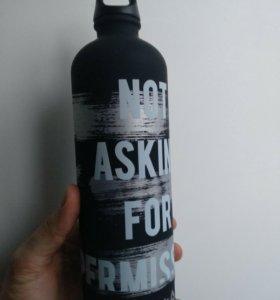 Бутылка Reebok для воды, новая