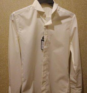 Новая рубашка на свадьбу,на выпускной под бабочку