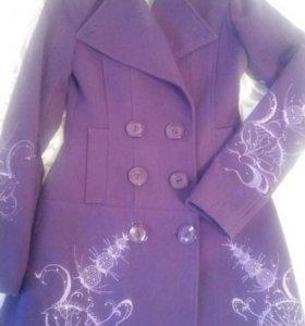 Пальто осень-весна xs
