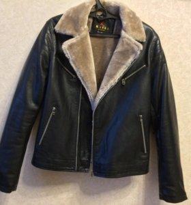 Куртка экокожа (новая)