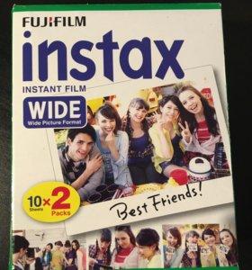 Картридж для камеры Fujifilm instax wide