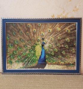 Картина ручной работы из алмазной мозаики