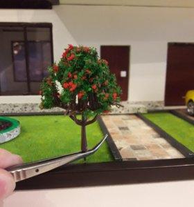 Деревья для макета (6, 5 см, код: D 04)