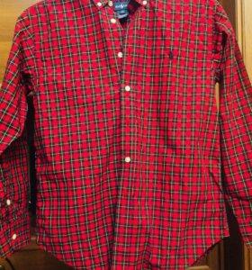 Рубашка Ralph Lauren M 10-12 лет