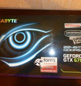 Игровая видеокарта GEFORCE GTX 670 2Гб(или обмен)