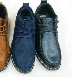 Новые ботинки чёрные