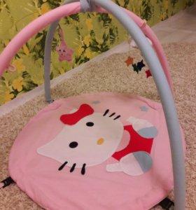 Развивающий коврик Hello Kitty