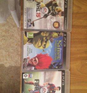 Игры на ps3 NHL 15 , FIFA 15, Shrek forever after