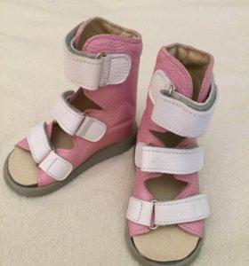 Новые ортопедические сандалики