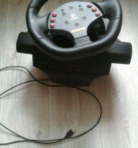 Продаю игровой руль 2500