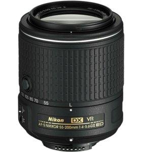 Объектив Nikon 55-200 mm