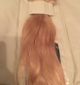 Накладные натуральные волосы 50см