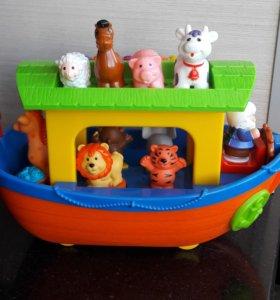 Музыкальная игрушка Ноев ковчег Kiddieland