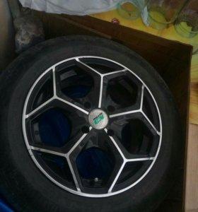 Летний комплект колес