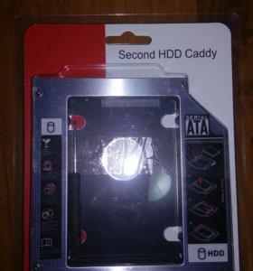 Адаптер 2.5 HDD для ноутбука 12.7 мм