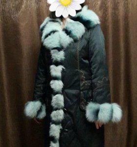 Пальто/куртка с мехом