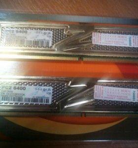 Оперативная память DDR2 OCZ 2 Gb комплект(2 х 1Gb)