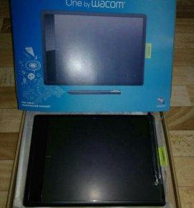 Новый Графический планшет Wacom one medium 2540lpi